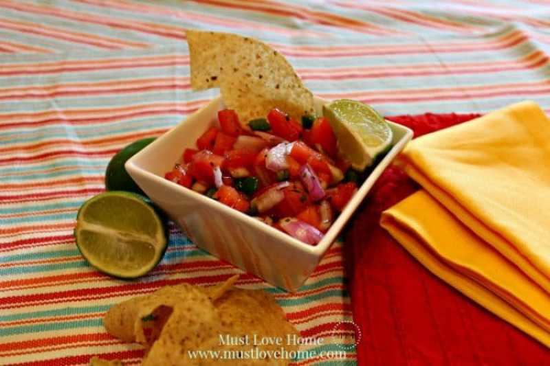 Pico De Gallo #mexican #recipe #texmex