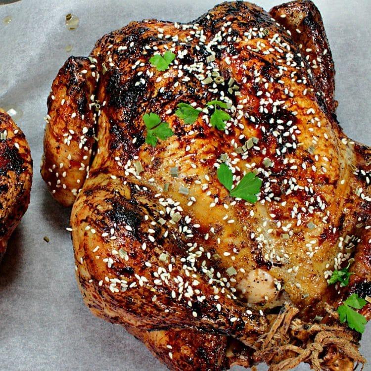 Sesame Honey Roasted Chicken