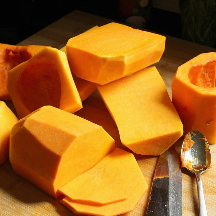 How To Easily Peel and Seed Butternut Squash