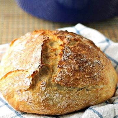 Faster Rustic No-Knead Bread