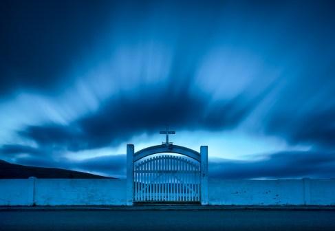 Entrance to a graveyard. @dpgoldphotos.com