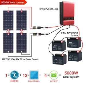 Solar Power System|5KW Solar Power System|Must Power Limited