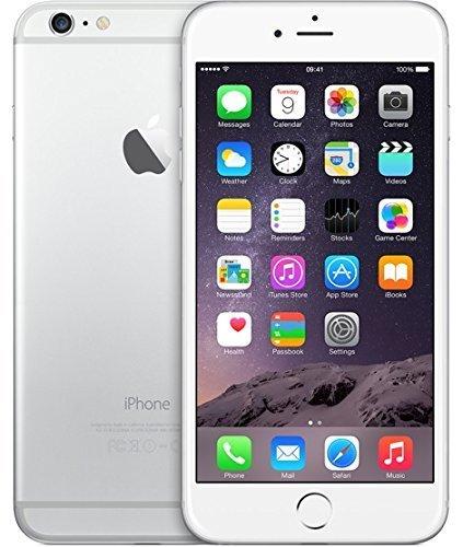 Apple iPhone 6 Plus 16 GB Unlocked, Silver (Certified Refurbished)