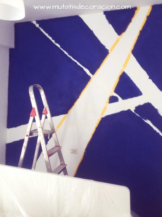mural sobre gotelé