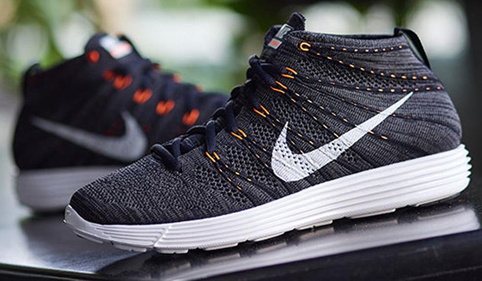 Nike Lunar Flyknit Chukka Midnight