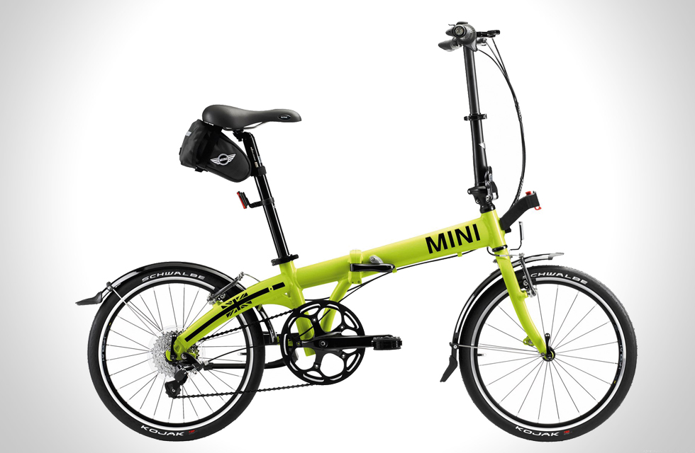 foldable bike by mini