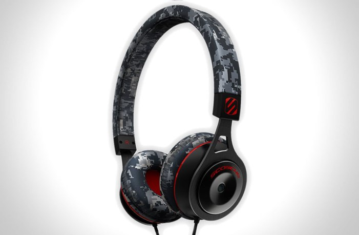 scosche rh656m digital camo on-ear headphones