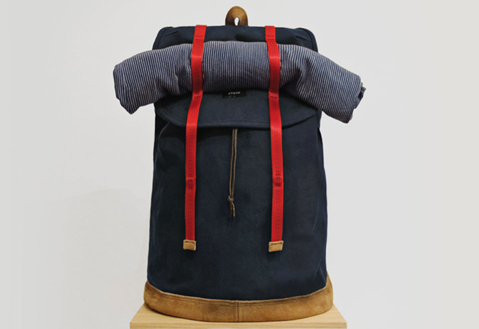 Bowoo Urban Hiker Navy Backpack