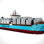 MAERSK LINE TRIPLE-E LEGO SHIP