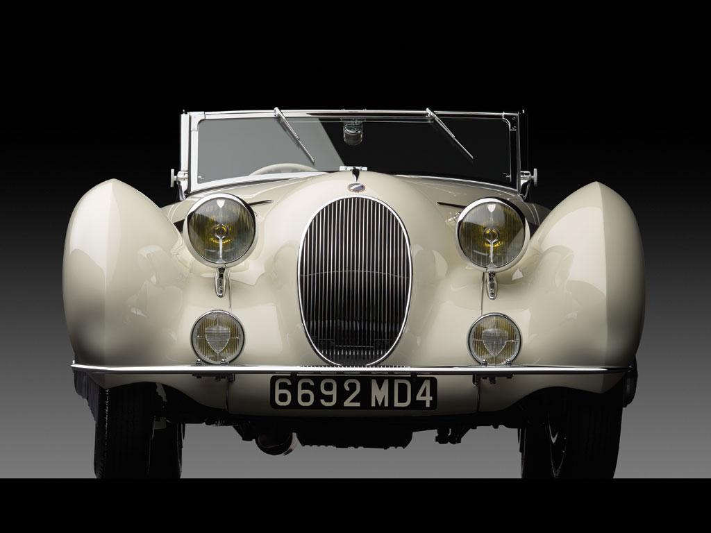 1936 Talbot Lago T150C Cabriolet Front