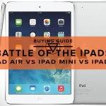 iPad Air vs iPad Mini vs iPad 2