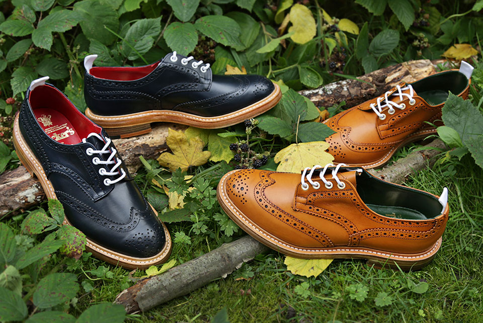 Tricker's X End Bourton Brogue Shoe