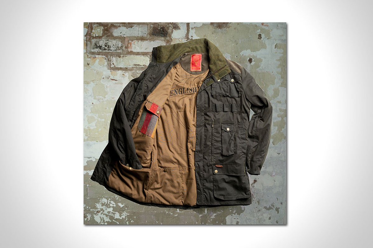 T26 EXPLORER WAX JACKET BY ENGLISH UTOPIA