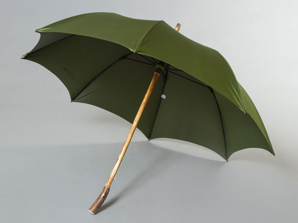 THE MAGLIA FRANCESCO DEER HORN HANDLE UMBRELLA