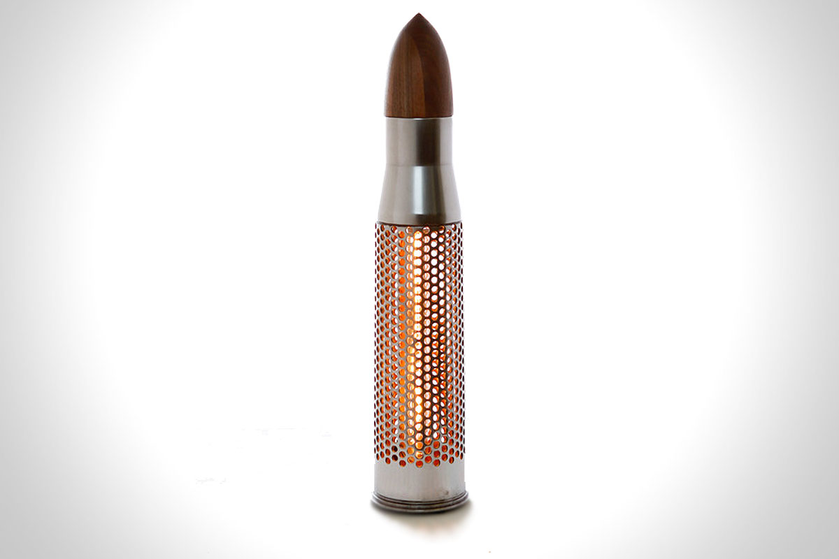 Friendly Fire Lamp by Stockpile Designs