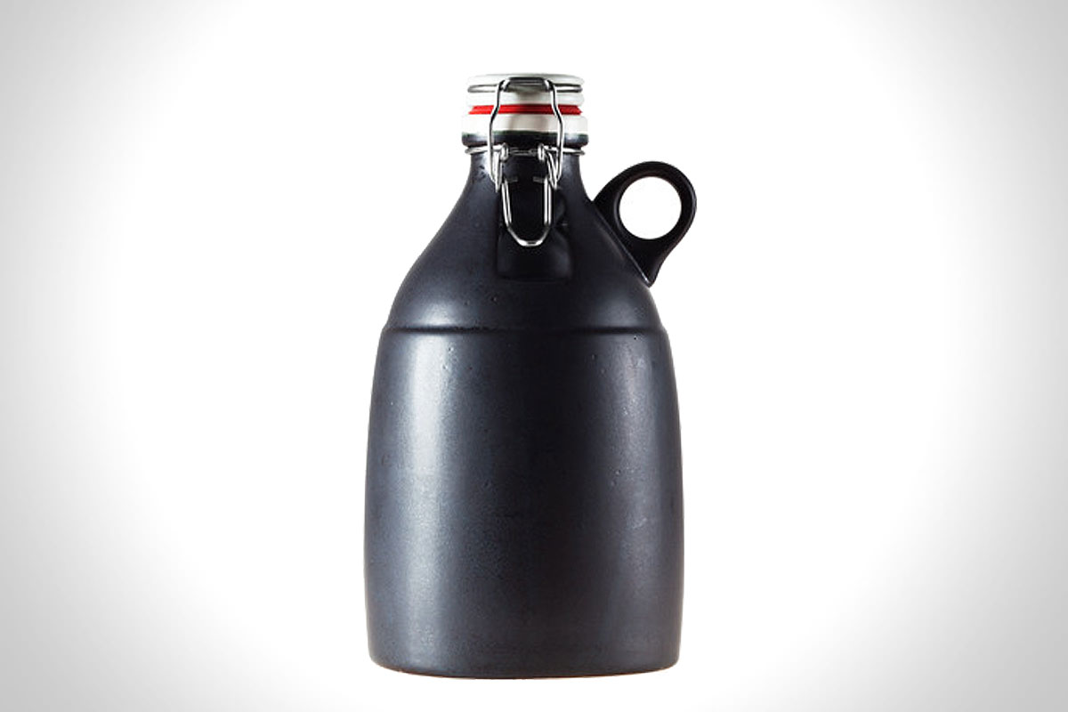 HANDMADE CERAMIC GROWLER WITH LOOP