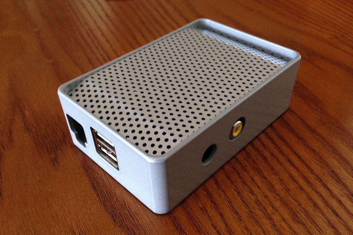 uniPi Raspberry Pi Aluminium Case