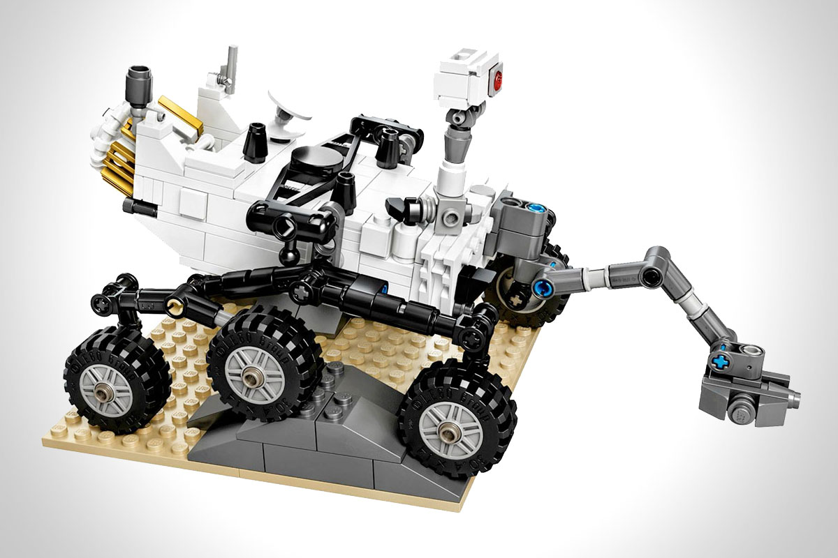 LEGO NASA MARS SCIENCE LABORATORY CURIOSITY ROVER