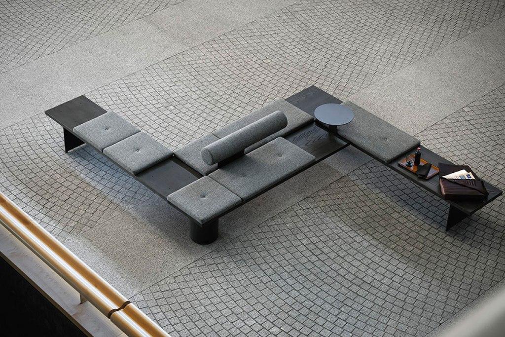 TACCHINI GALLERIA MODULAR SEATING SYSTEM X PEARSONLLOYD