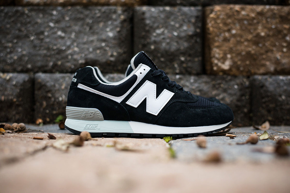 NEW BALANCE 576ND1 - BLACK/WHITE