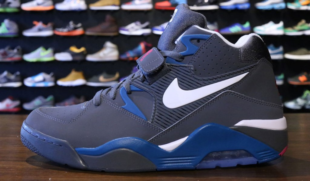 NIKE AIR FORCE 180 (DARK GREY/WHITE/GREEN ABYSS)