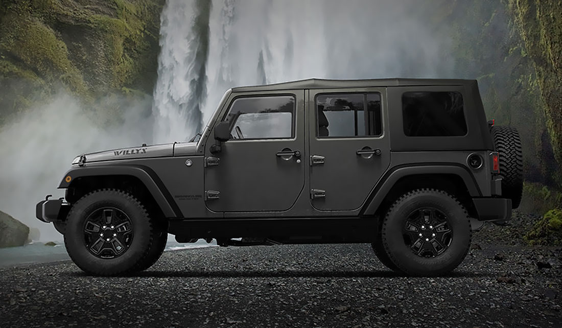 2104 WRANGLER WILLYS WHEELER EDITION