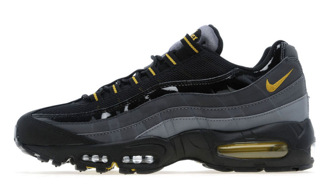 NIKE AIR MAX 95 (BLACK & DARK CITRON)