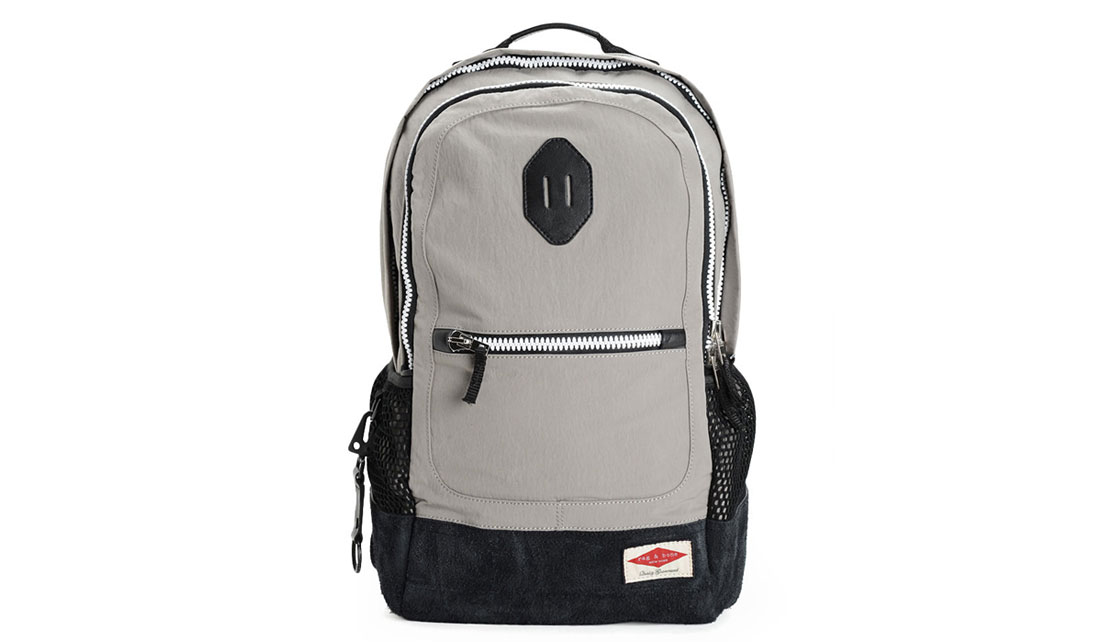 RAG & BONE SPORTY GREY BACKPACK