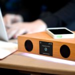 GLOWDECK WIRELESS CHARGING SPEAKER SYSTEM