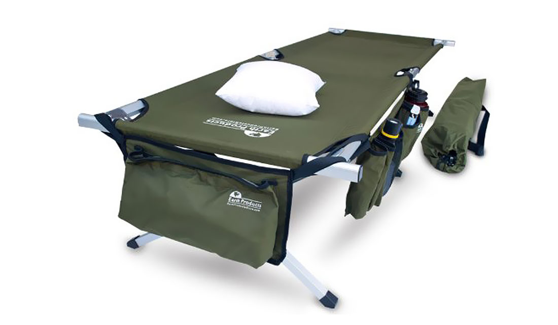 EARTH MILITARY-STYLE CAMPING COT