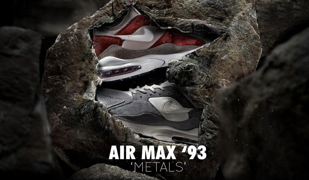 "NIKE AIR MAX 93 ""METALS"" X SIZE?"