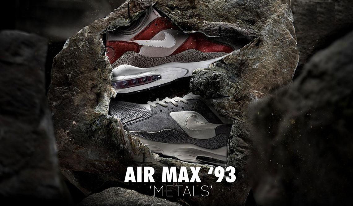 "NIKE AIR MAX 93 ""METALS"" X SIZE?"