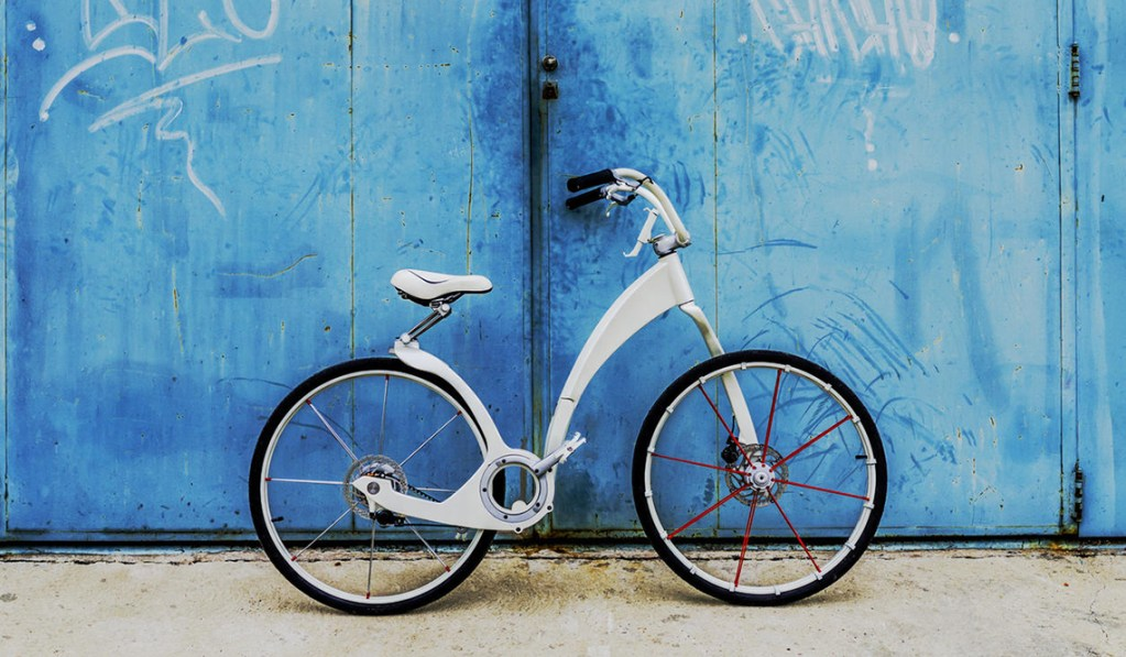 GI-BIKE - THE ELECTRIC FOLDING URBAN COMMUTER