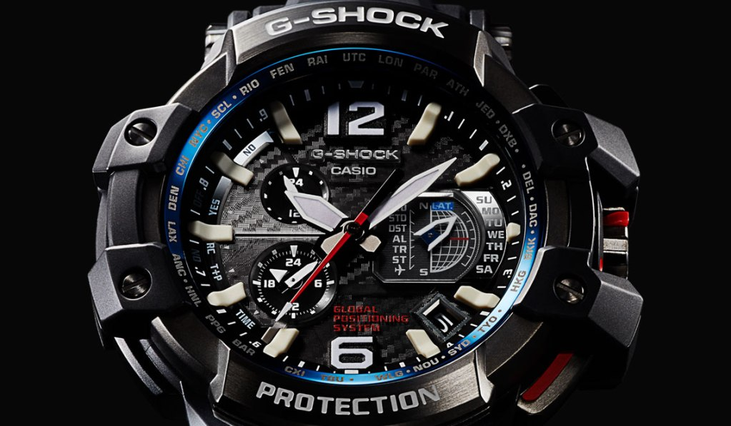 G-SHOCK GPW-1000 GPS SOLAR POWERED WATCH