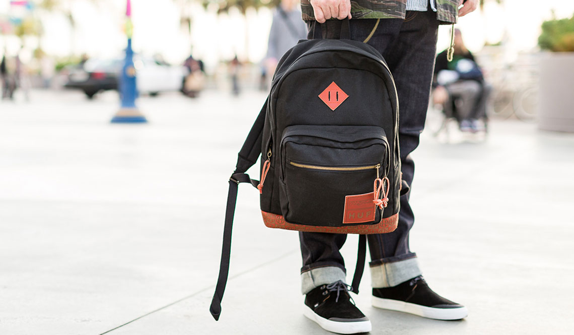 JANSPORT X HUF X RED WING COLLABORATION BACKPACK
