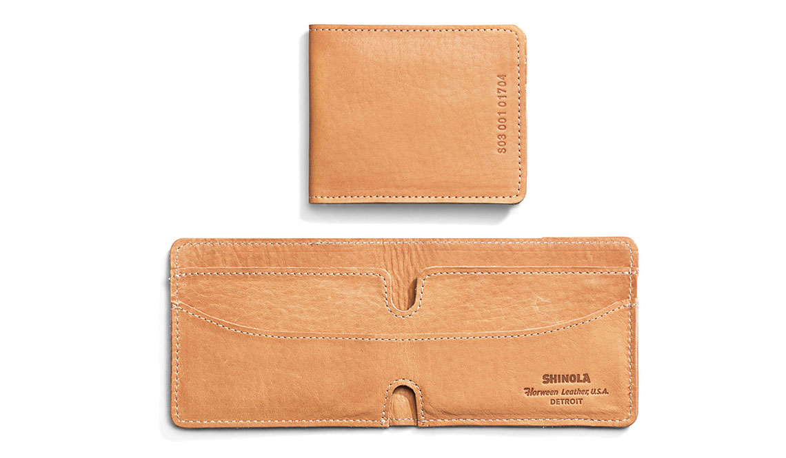SHINOLA BIFOLD WALLET