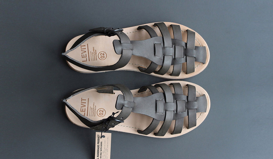LEVIT 02 HANDMADE LEATHER SANDALS