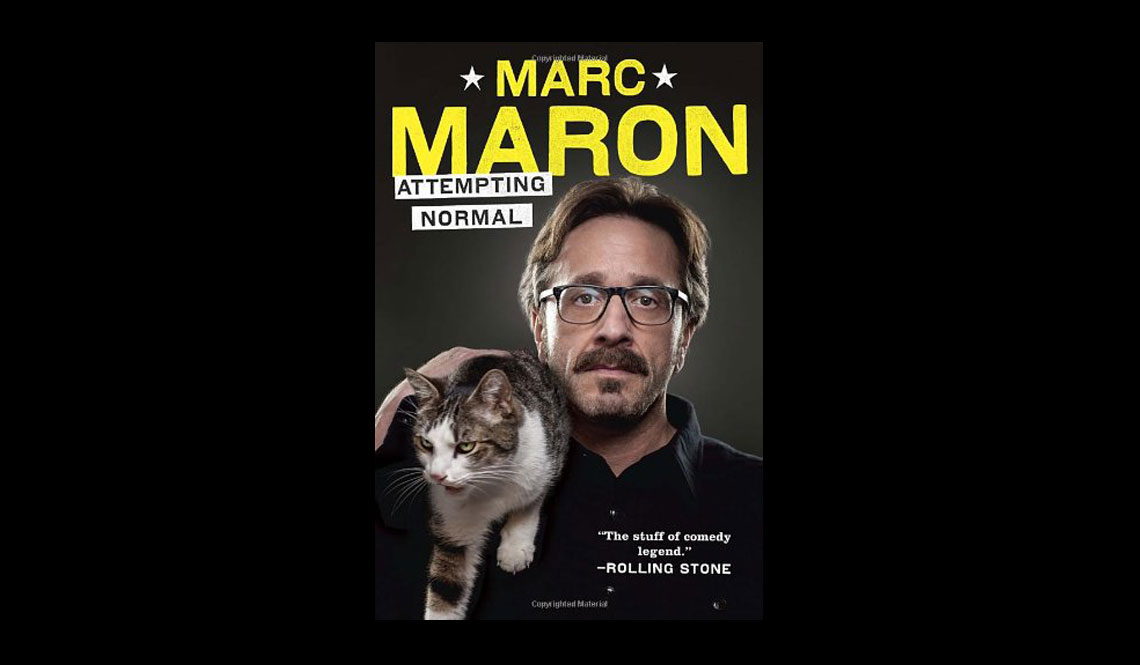 Marc Maron Attempting Normal