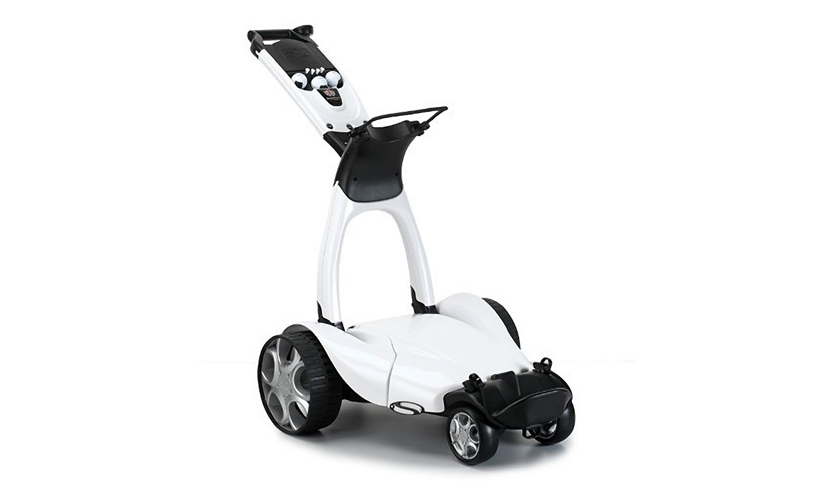 STEWART X9 FOLLOW GOLF TROLLEY
