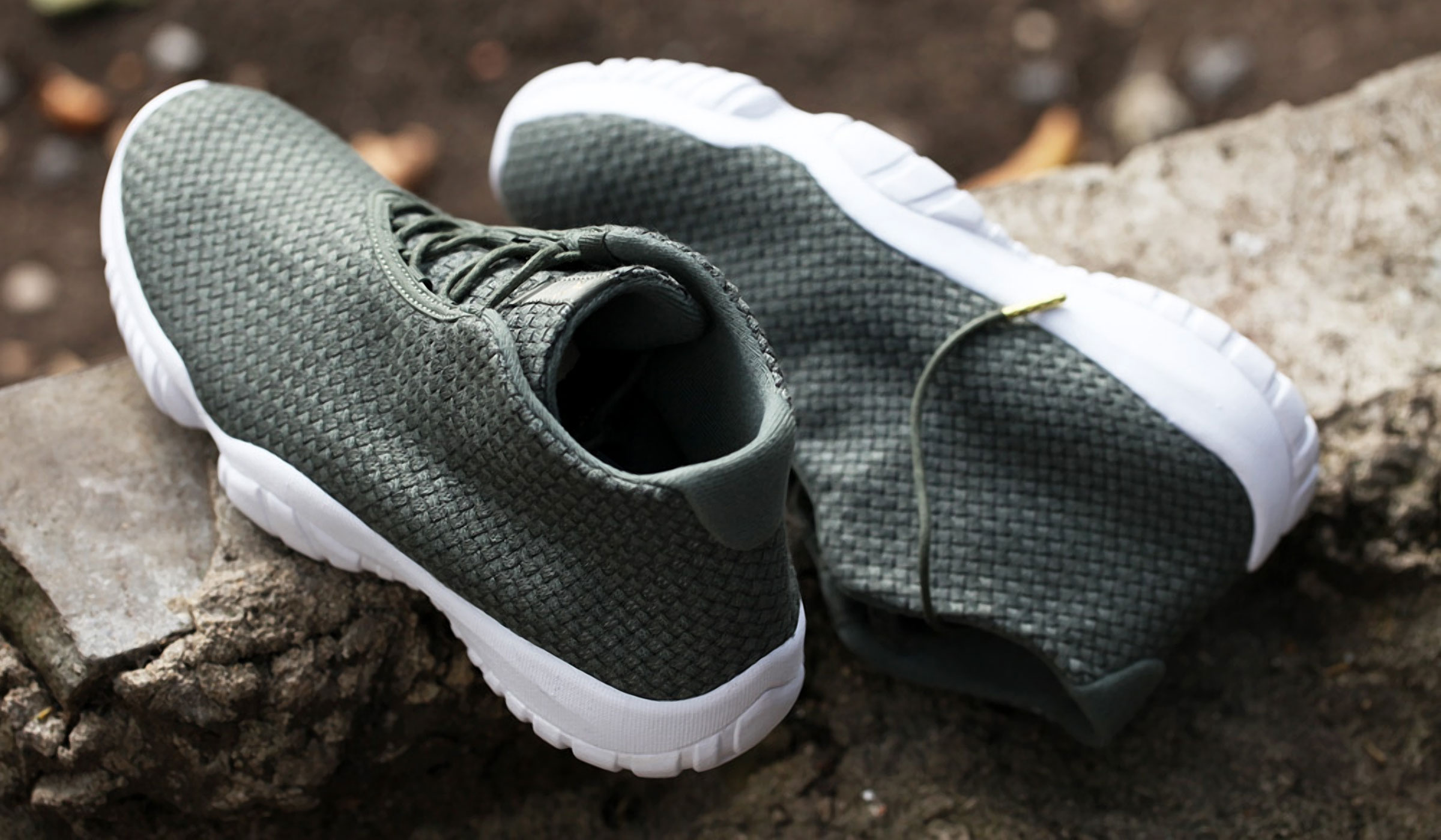 AIR JORDAN FUTURE IRON GREEN/WHITE