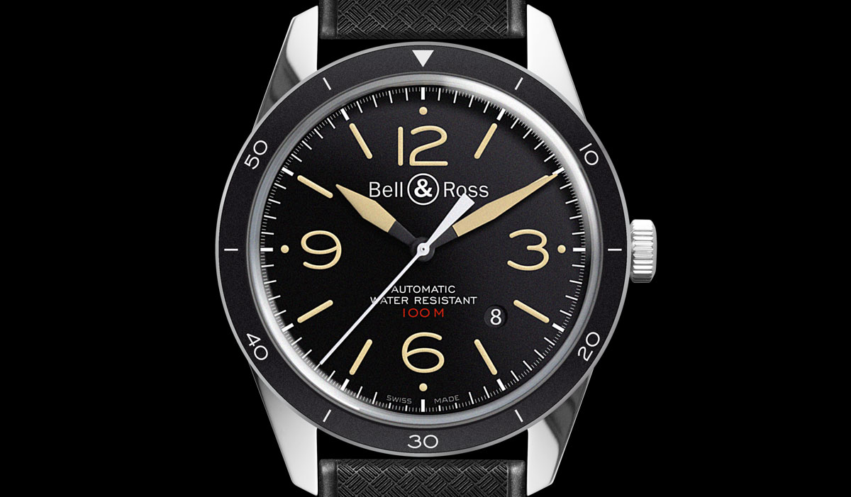 BELL & ROSS - BR 123 SPORT HERITAGE