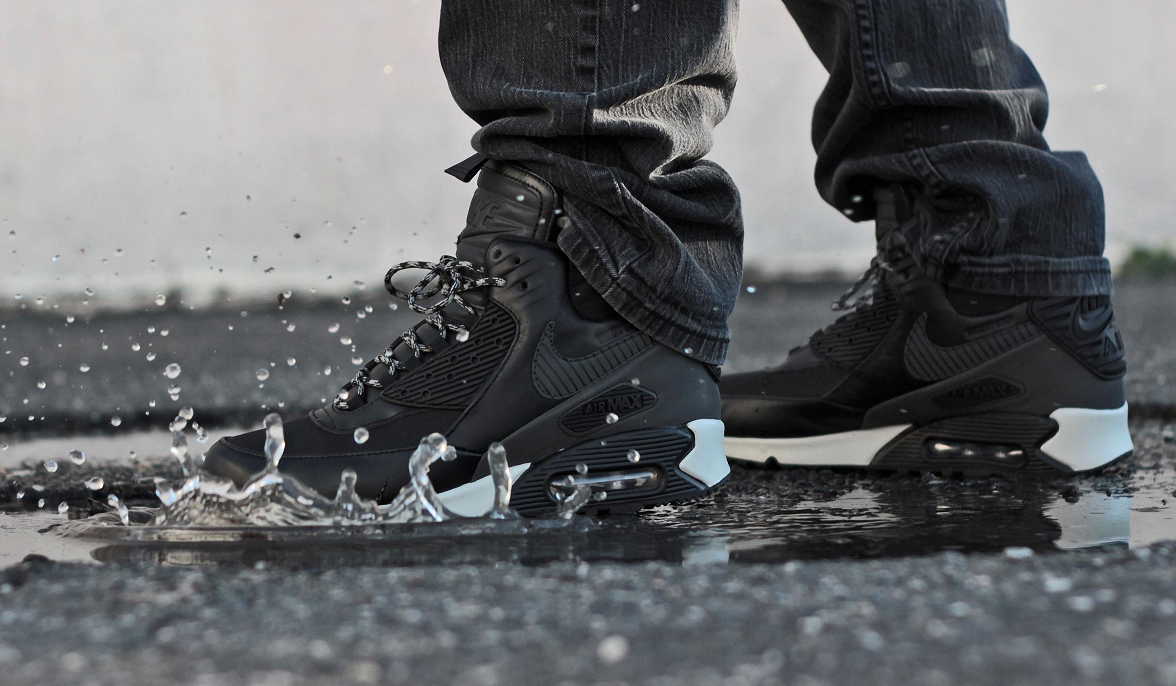 Nike Air Max 90 Winterized Sneakerboot Triple Black | Nike