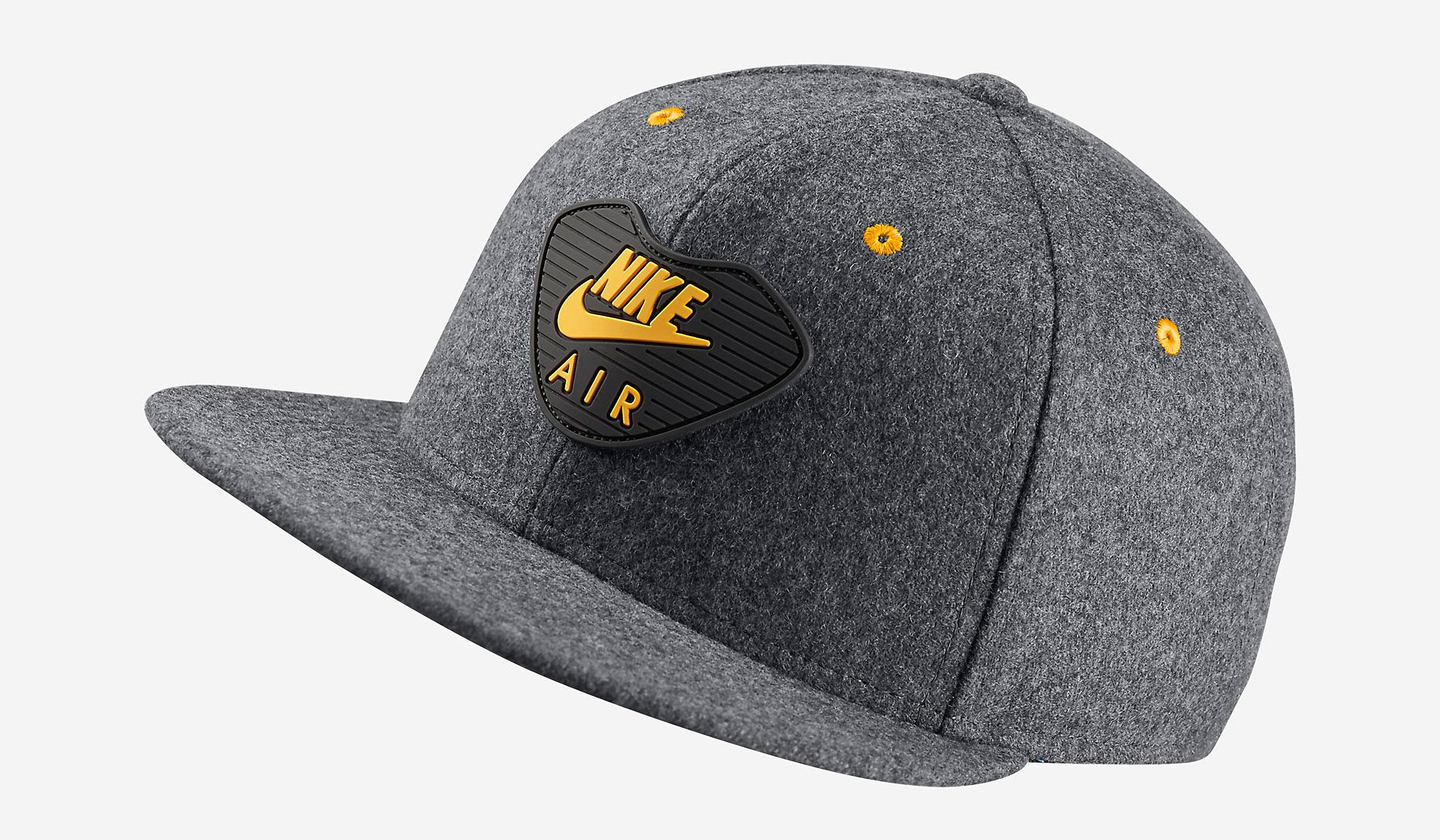 NIKE AIR MAX 90 WINTER STRAPBACK CAP