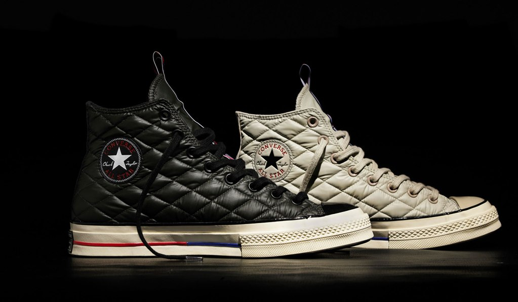 "CONVERSE FIRST STRING ""DOWN JACKET"" CHUCKS"