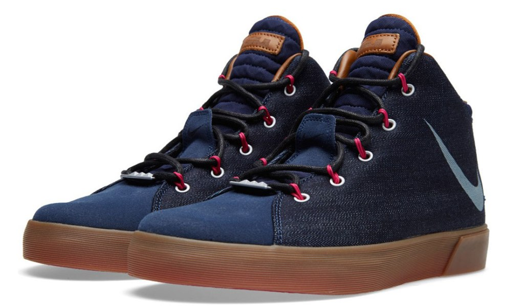 best service 49f73 6eb5e NIKE LEBRON XII NSW DENIM LS QS SNEAKERS | Muted.