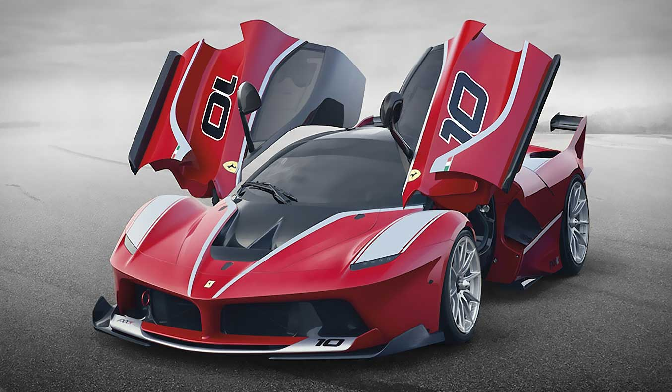 2015 LAFERRARI FXX-K SUPERCAR