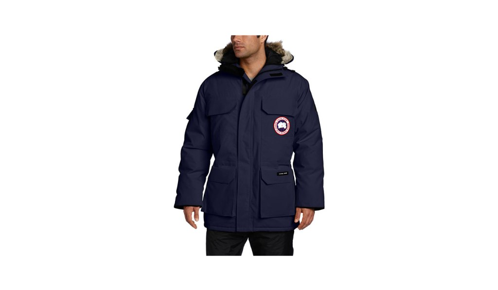 extreme cold weather gear - canada goose