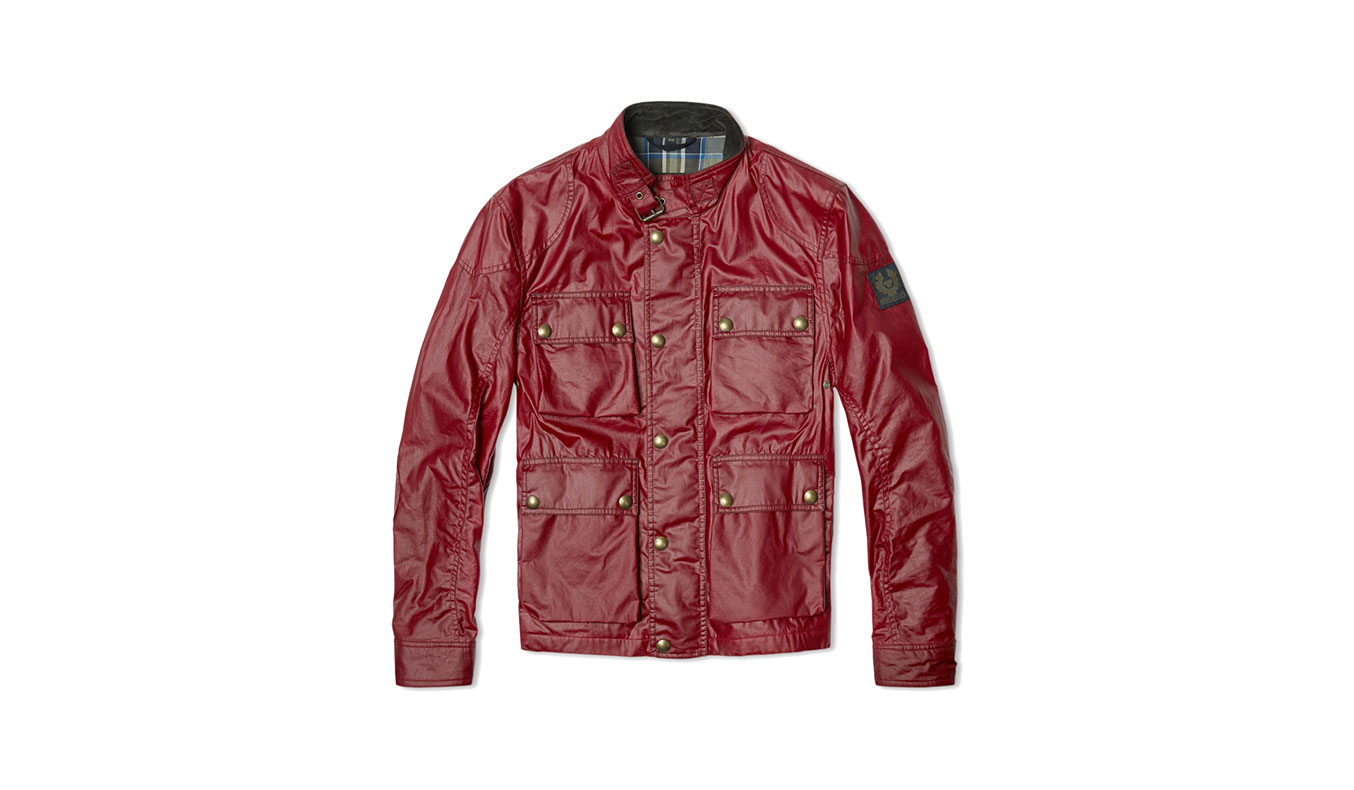 BELSTAFF BURGESS JACKET - RACING RED