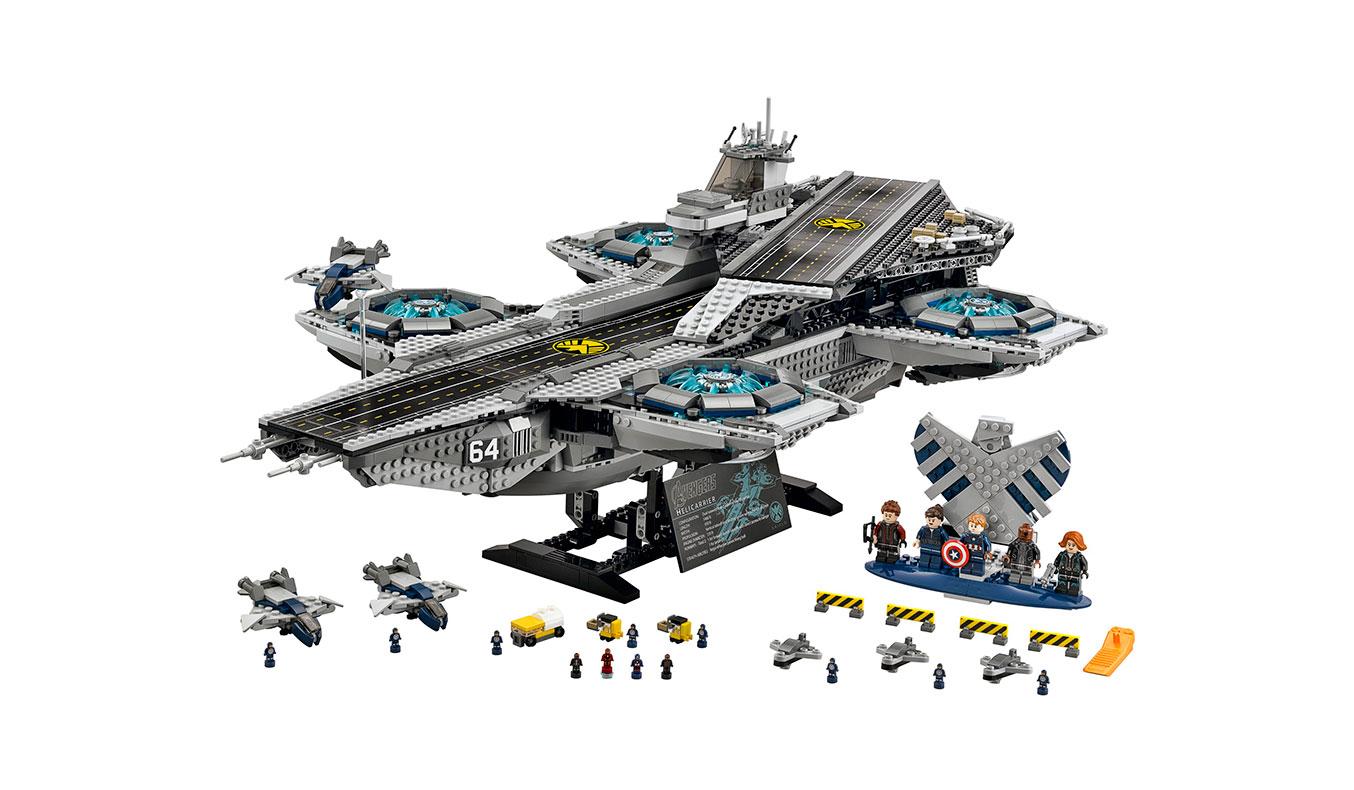 LEGO MARVEL SUPERHEROES S.H.I.E.L.D. HELICARRIER