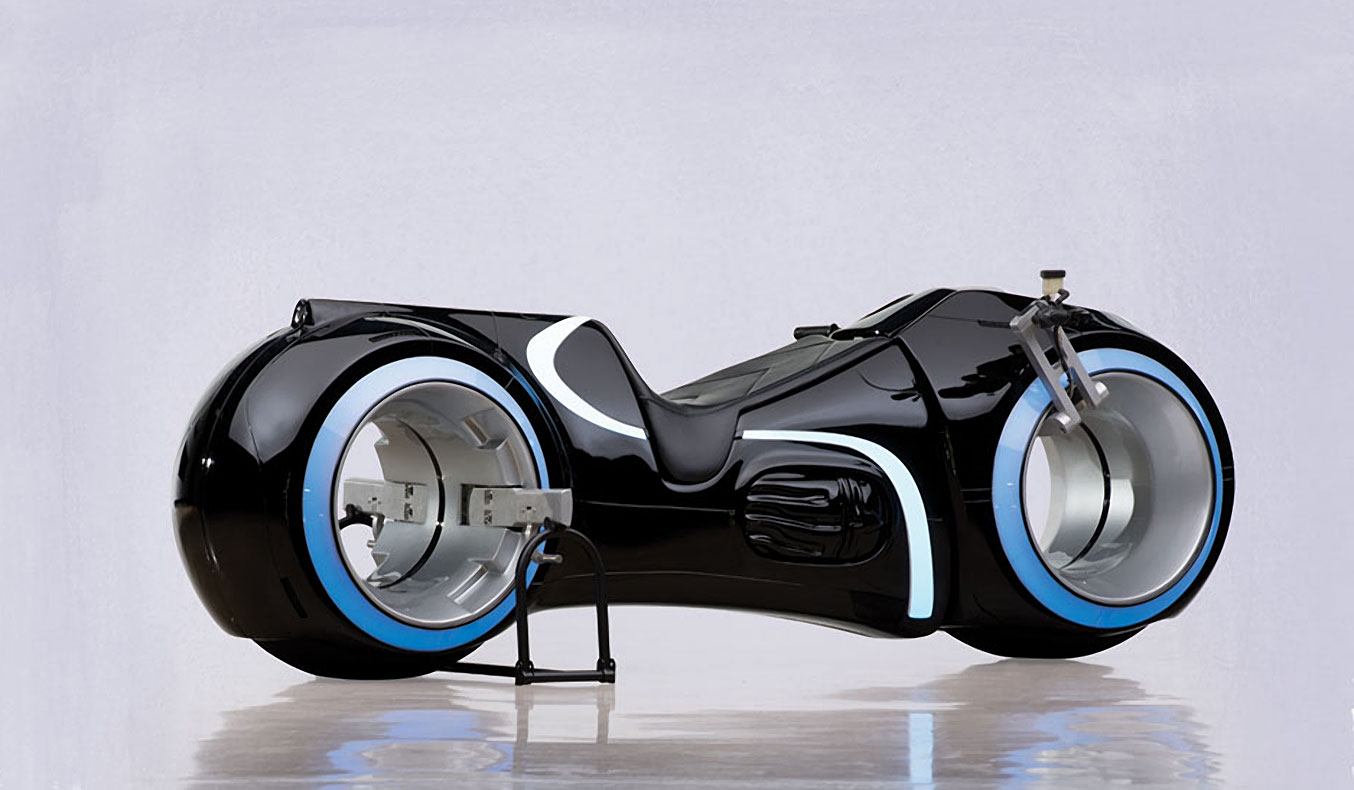 TRON LIGHTCYCLE REPLICA